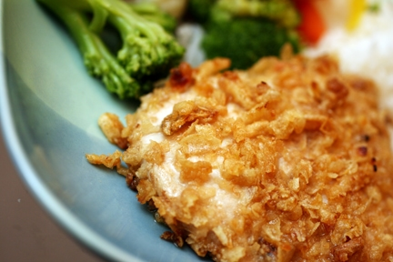 Dream Dinners Crispy French Onion Chicken